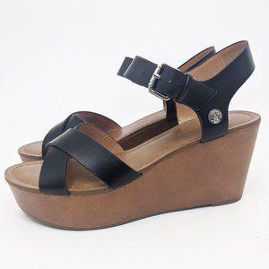 Tommy Hilfiger Wilo Wedge Platform Sandals 9 NEW B
